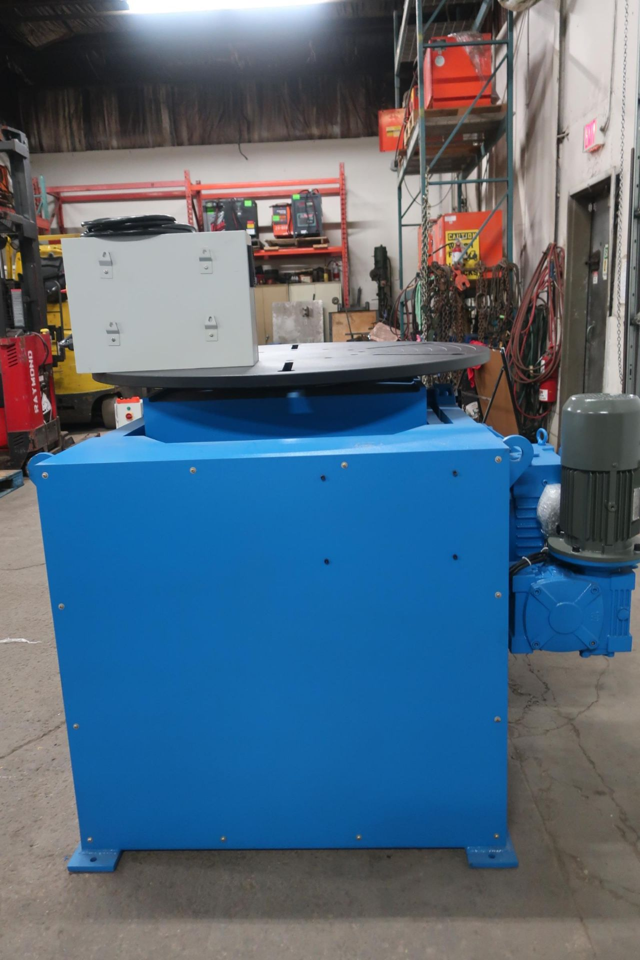 BWJ-30 WELDING POSITIONER 3000kg or 6600lbs capacity - tilt and rotate with variable speed drive and - Image 4 of 4