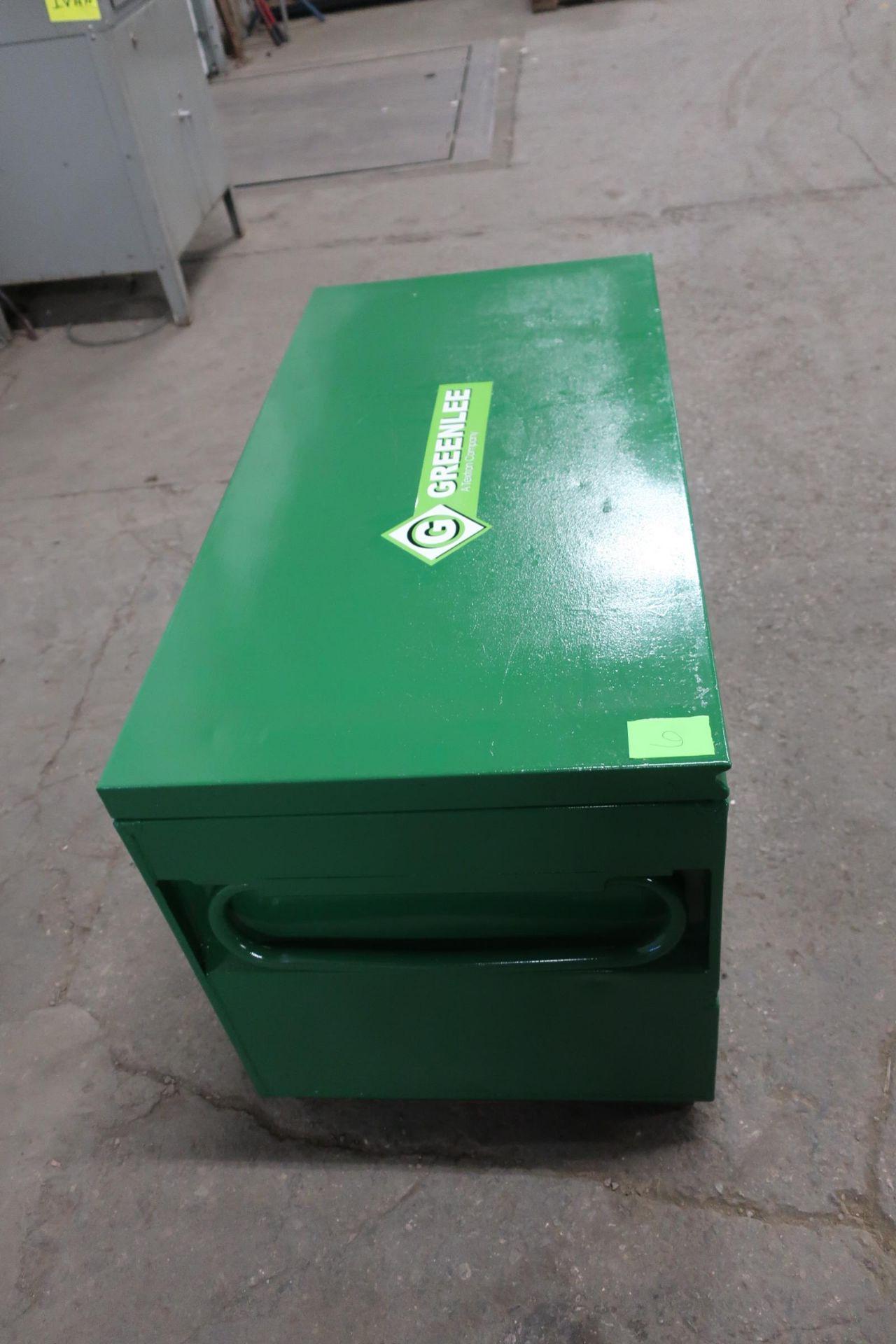 Greenlee Tool Box Jobox 4' x 2' x 2' - Image 2 of 2