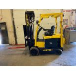 FREE CUSTOMS - 2013 Hyster 5000lbs Capacity Forklift Electric with 4-stage mast with sideshift and