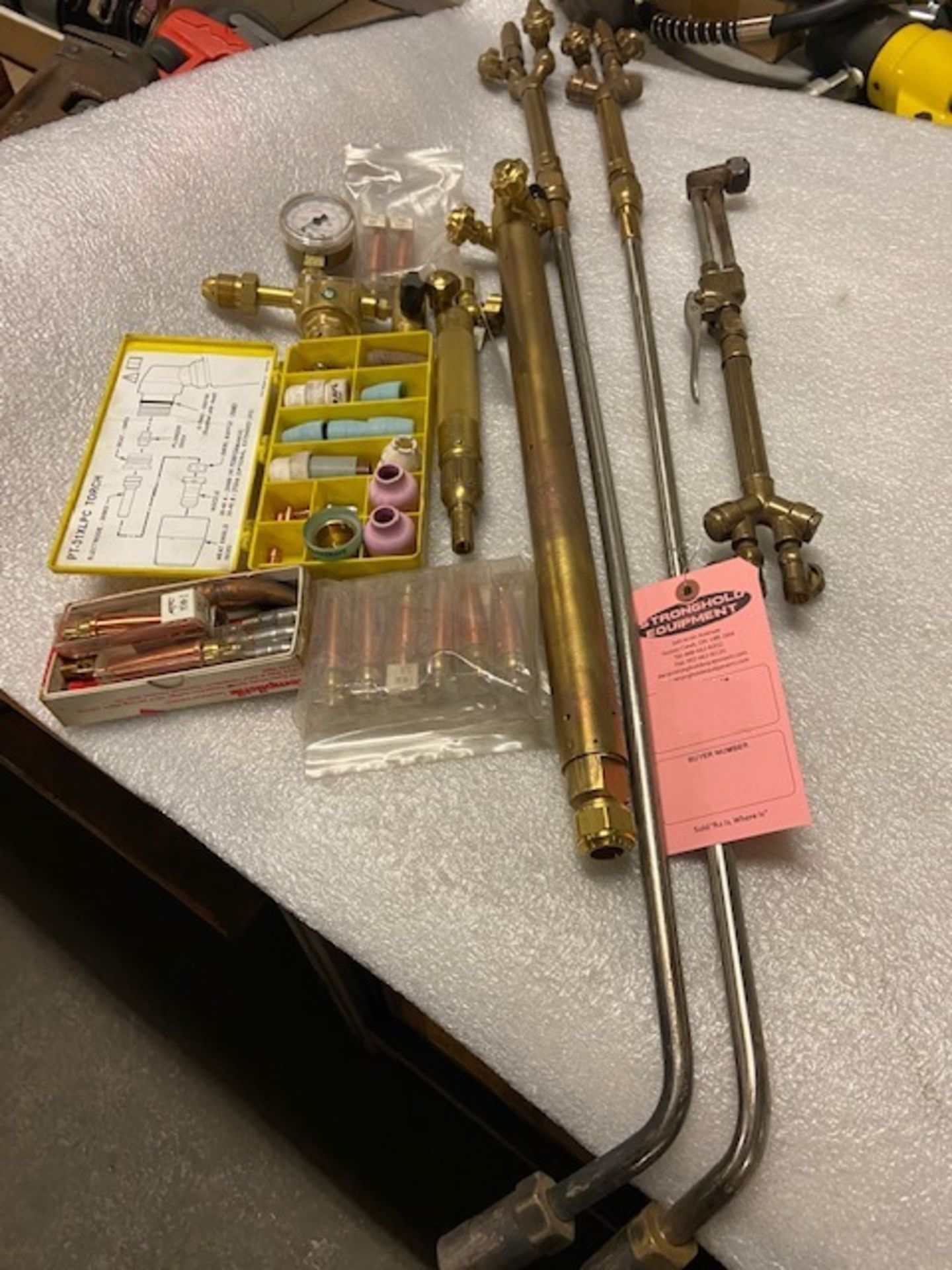 Large Lot fo Harris Victor Torches, Gauges Tips and more SOME NEW UNITS