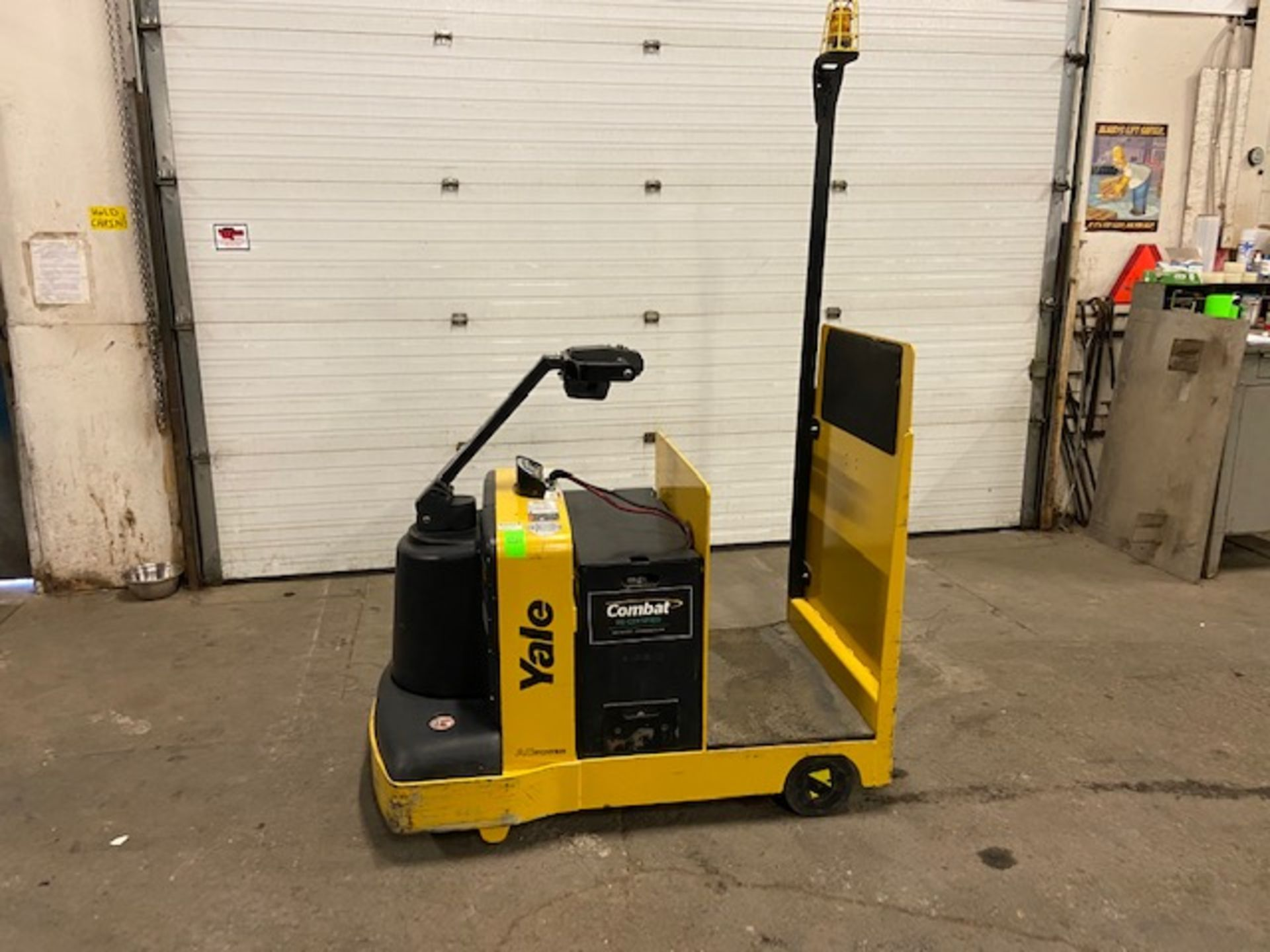 2016 Yale Ride On Tow Tractor - Tugger / Personal Carrier Electric 24V