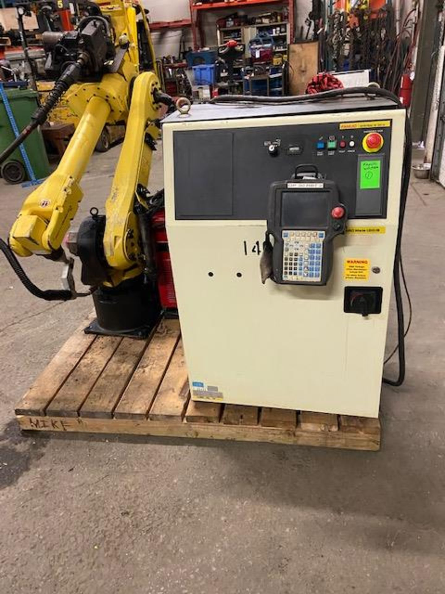 2008 Fanuc Arcmate 120iB / 10L Welding Robot with System FULLY TESTED with R30iA Controller, teach - Image 5 of 6