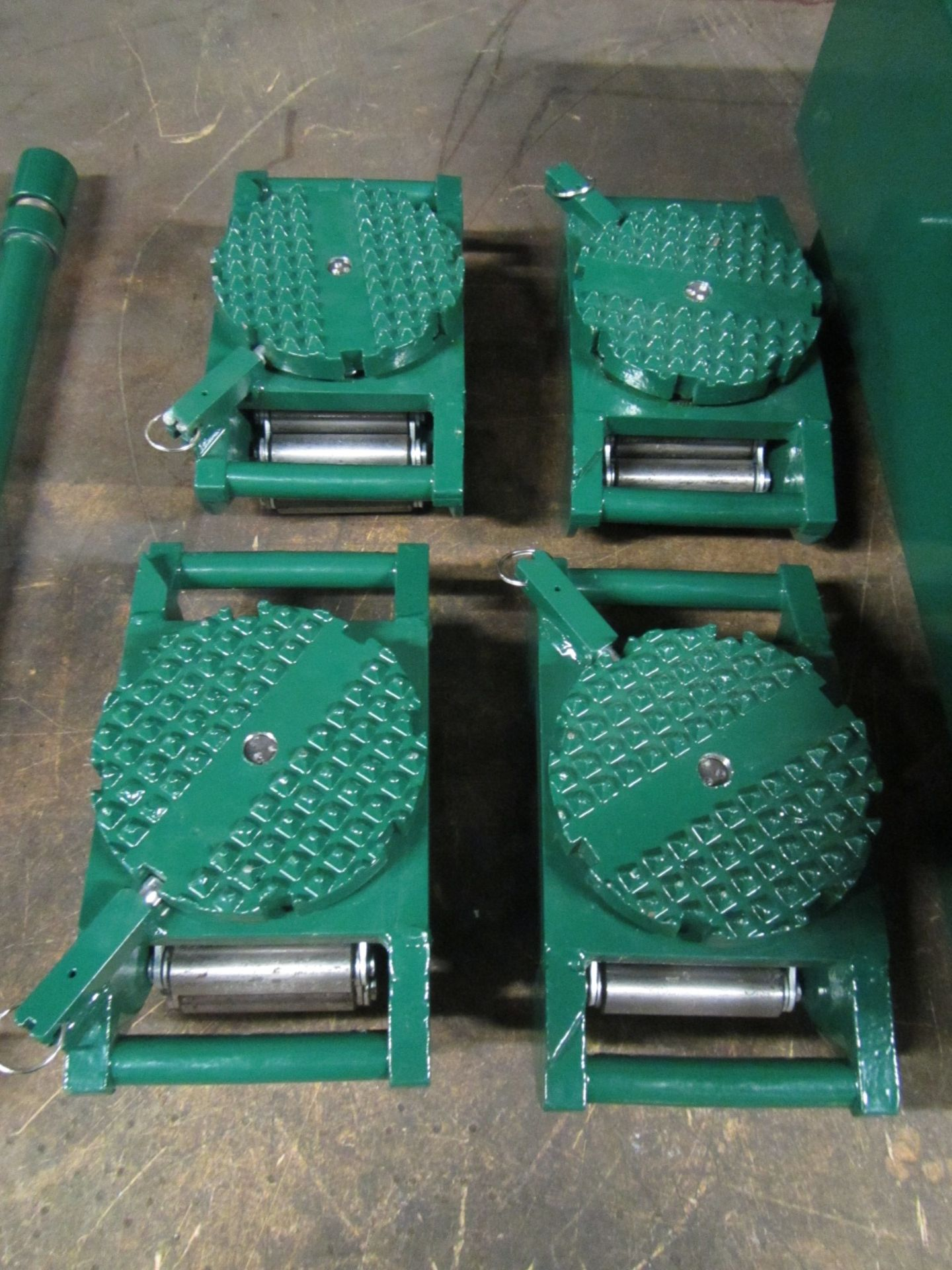 Hilman Type Roller Set Machinery moving skates - 40 Ton Deluxe Kit - 4 x 10 ton units - Image 2 of 2
