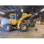 John Deere 544E Wheel LOADER - 2 Yard Bucket and enclosed cab