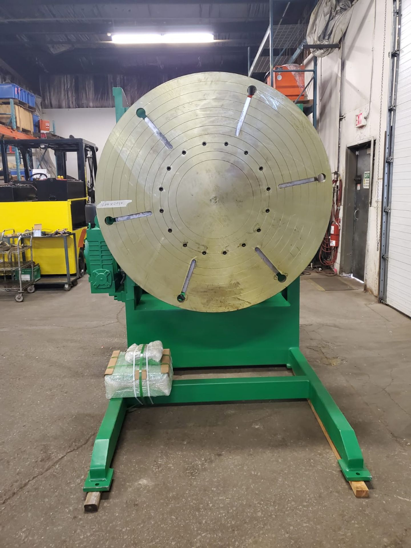 Verner model VD-12000 WELDING POSITIONER 12000lbs capacity - tilt and rotate with variable speed - Image 2 of 2
