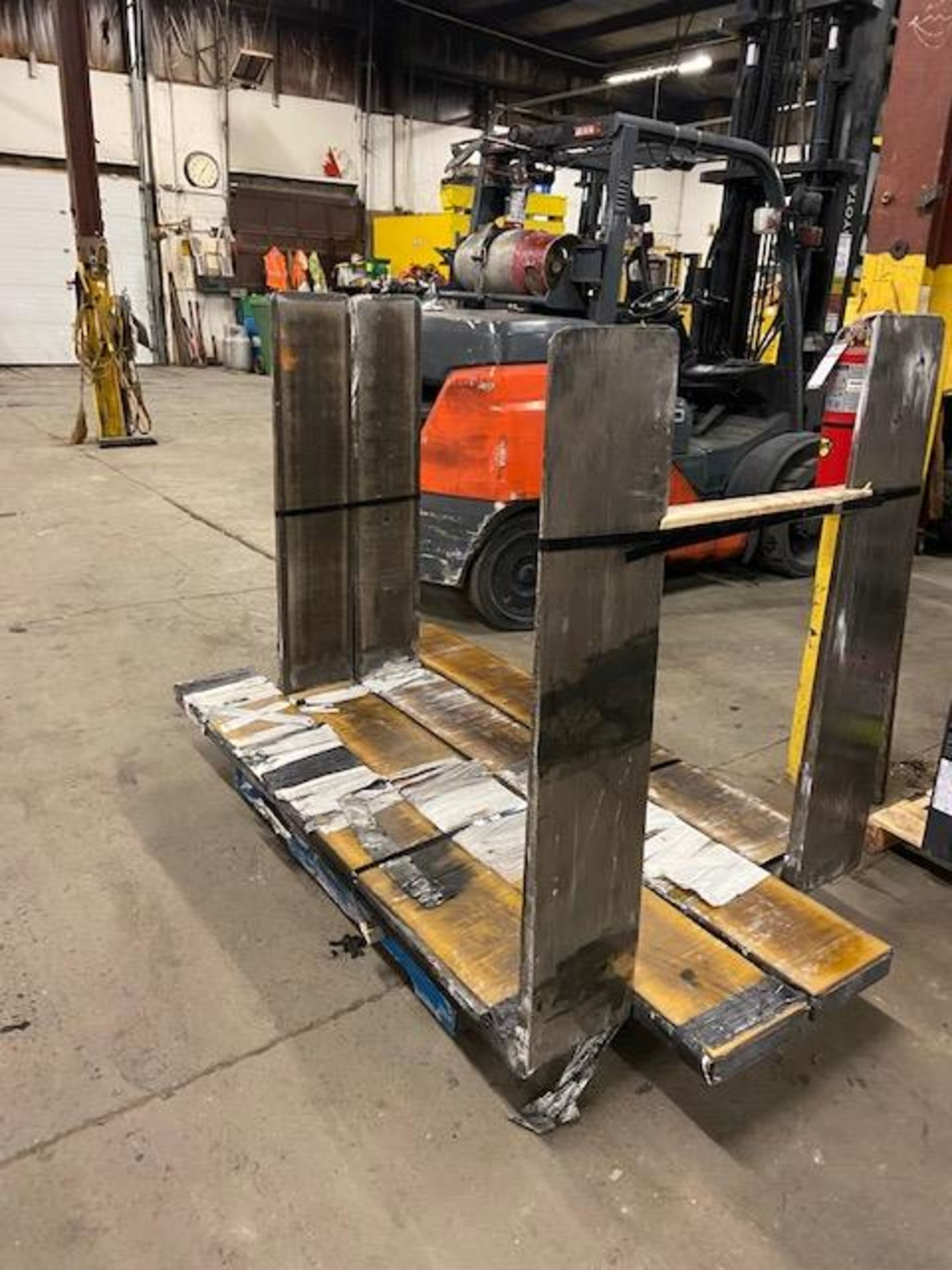 """Lot of 2 Gyprock Forklift Forks (1 complete set of 2) CLASS 4 - 48"""" Long 10"""" wide HEAVY DUTY 6"""
