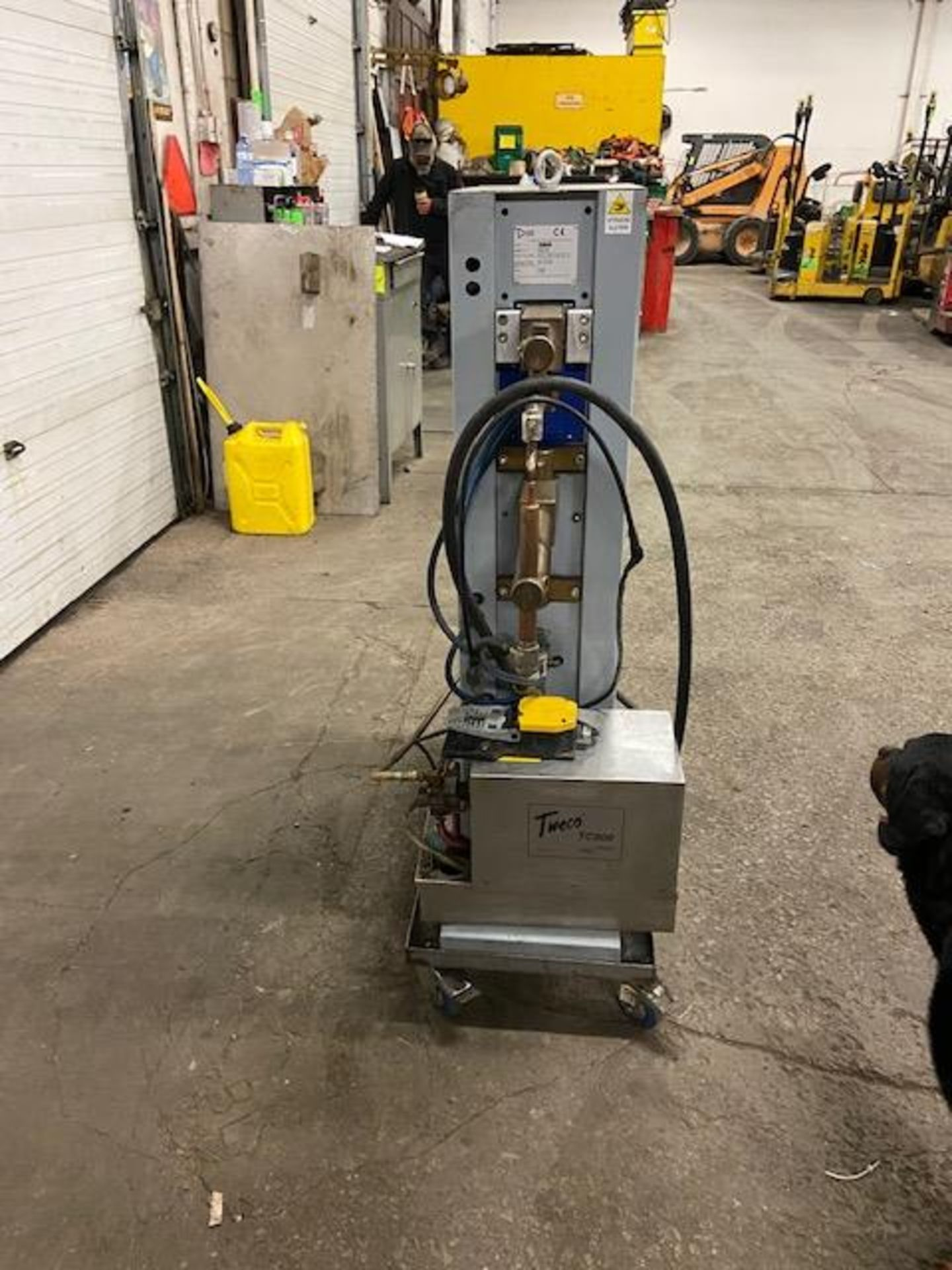 Mawer Spot Welder Unit 25 KVA model PBP162 PEI-POINT Made in Italy - 1 phase complete with foot - Image 3 of 3