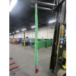 Webbing Sling with 4 hooks - 8' long 8000lbs capacity MINT NEW UNITS