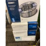 Lot of 4 Boxes of Linde Aluminum Wire