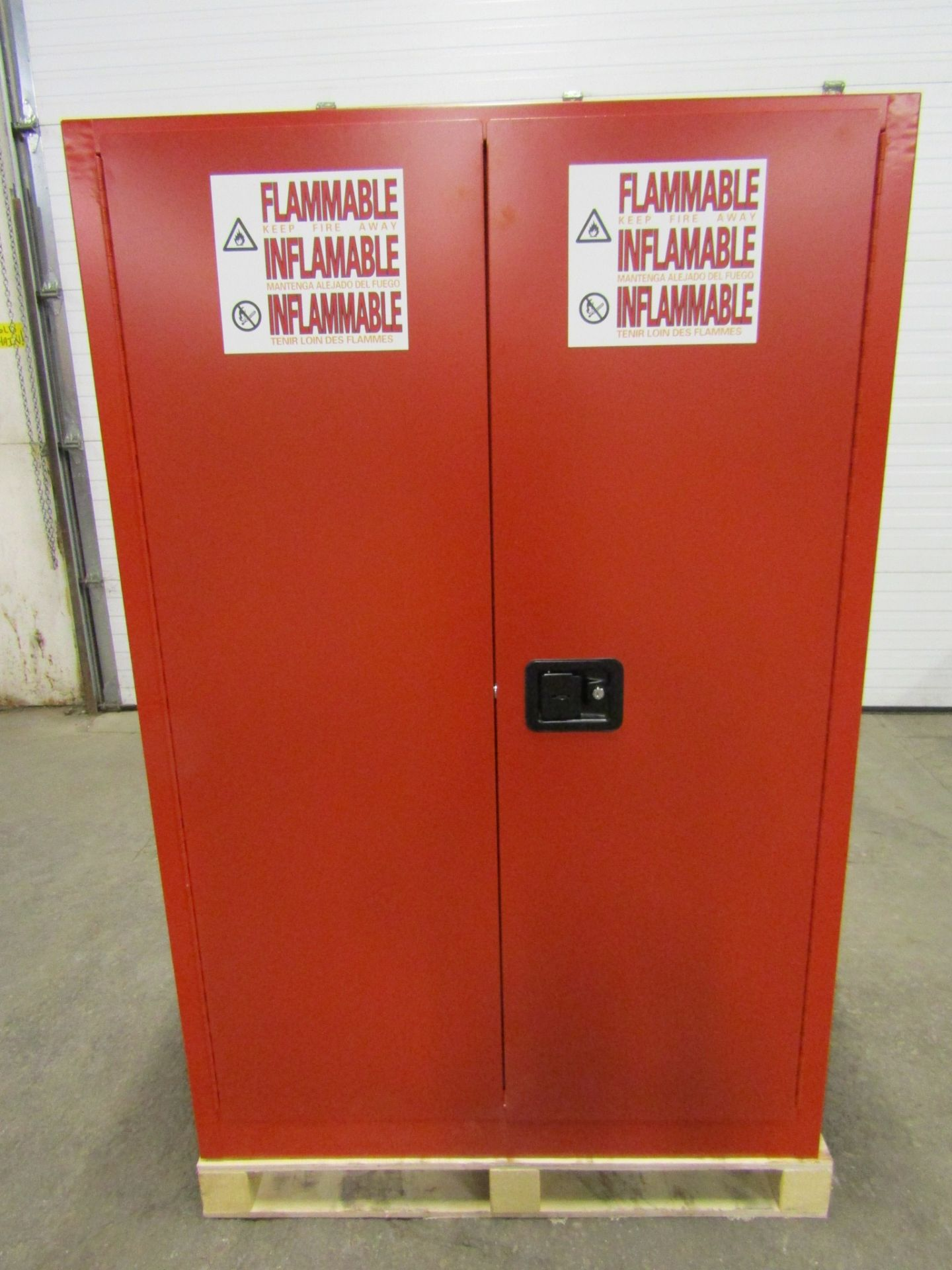 MINT Flammable Safety Fire cabinet with 2 shelves storage with LOCK
