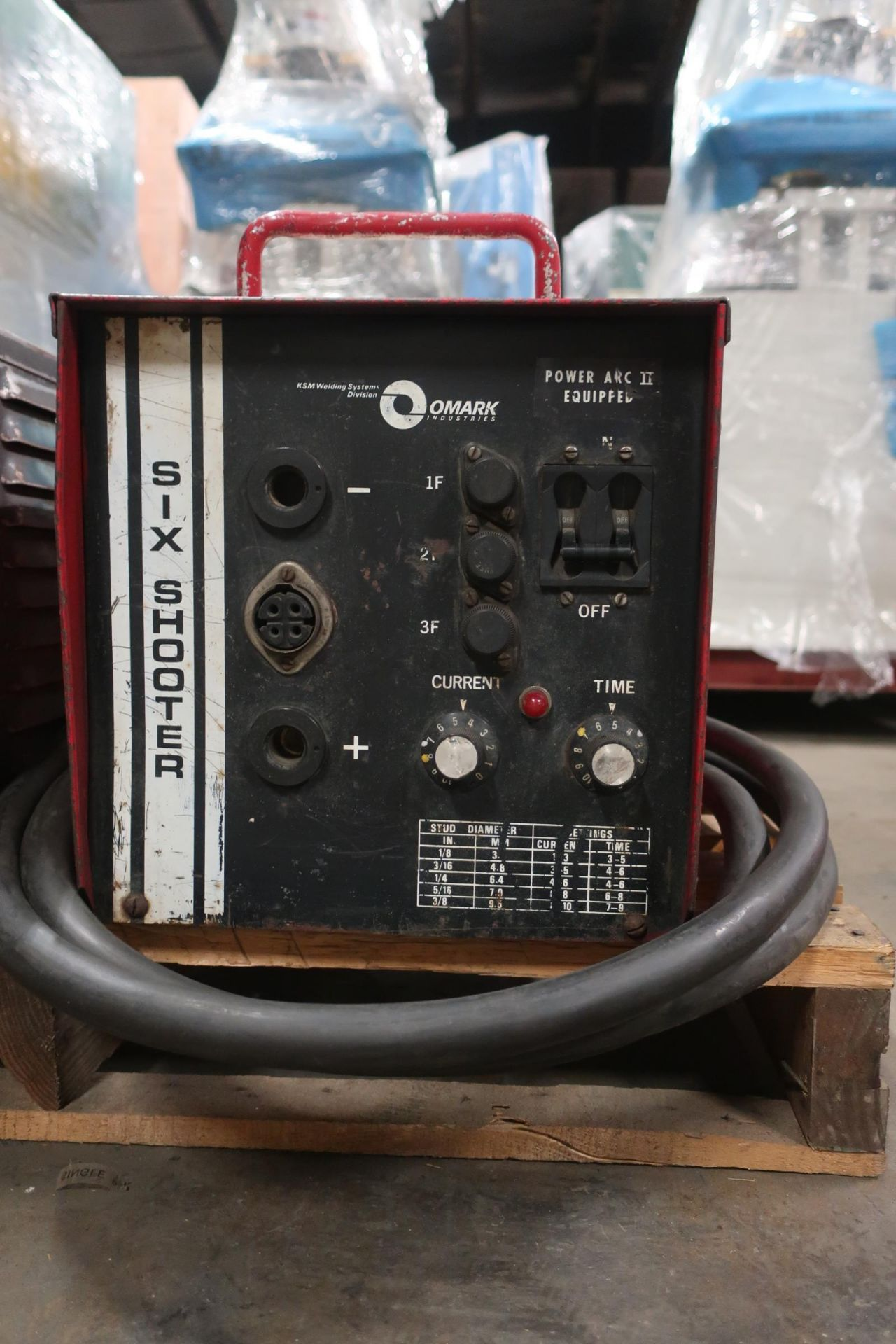 """Six Shooter Stud Welder unit up to up to 3/8"""" stud capacity"""