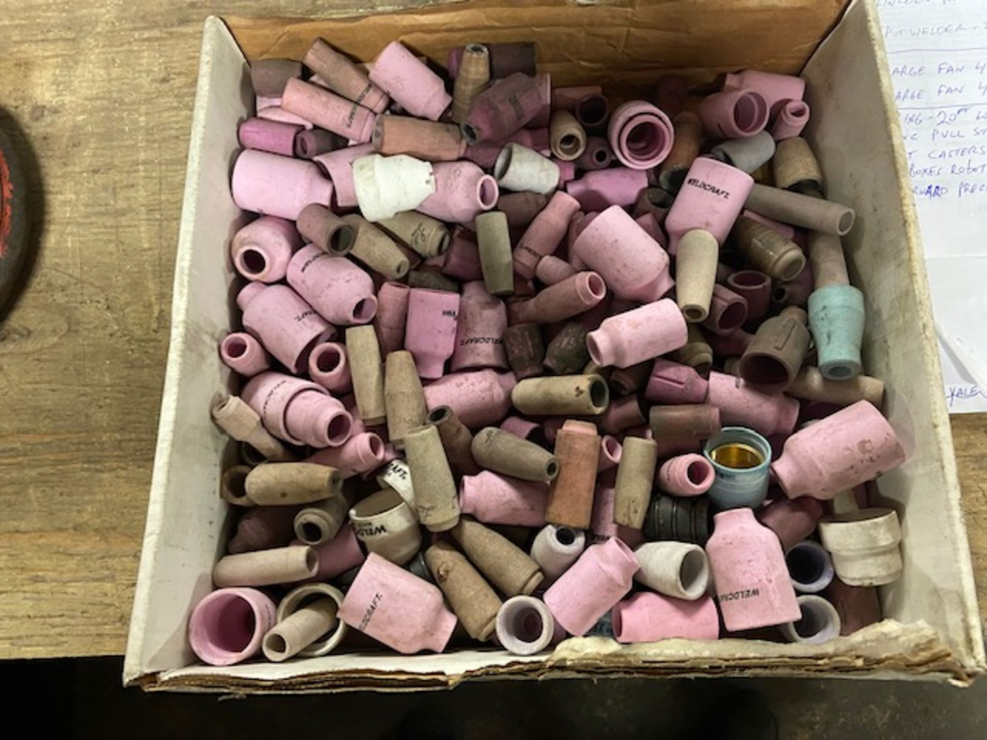 Large Lot of Tig Torch Parts