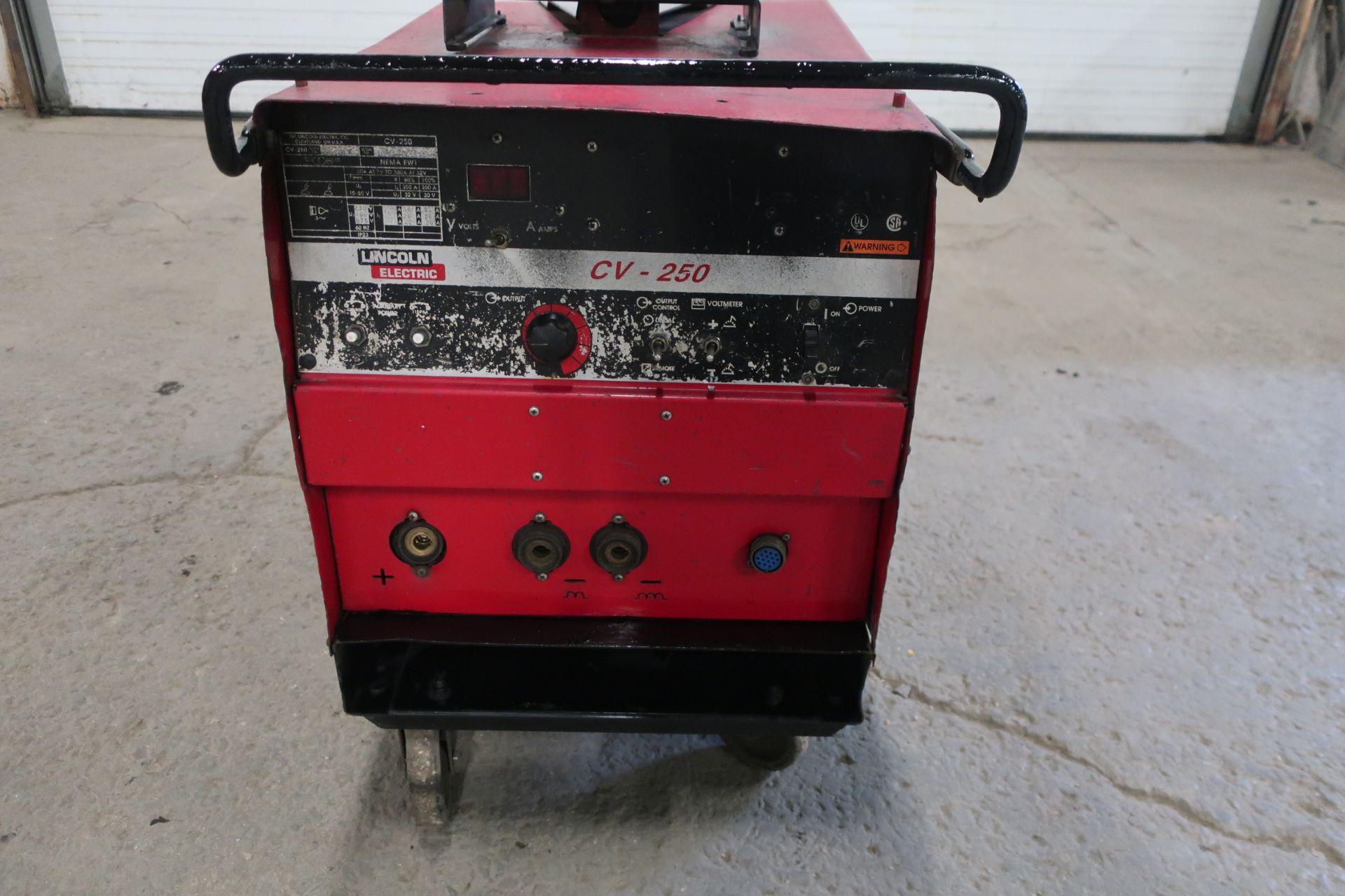 Lincoln CV-250 Mig Welder - 250 amp 3 phase