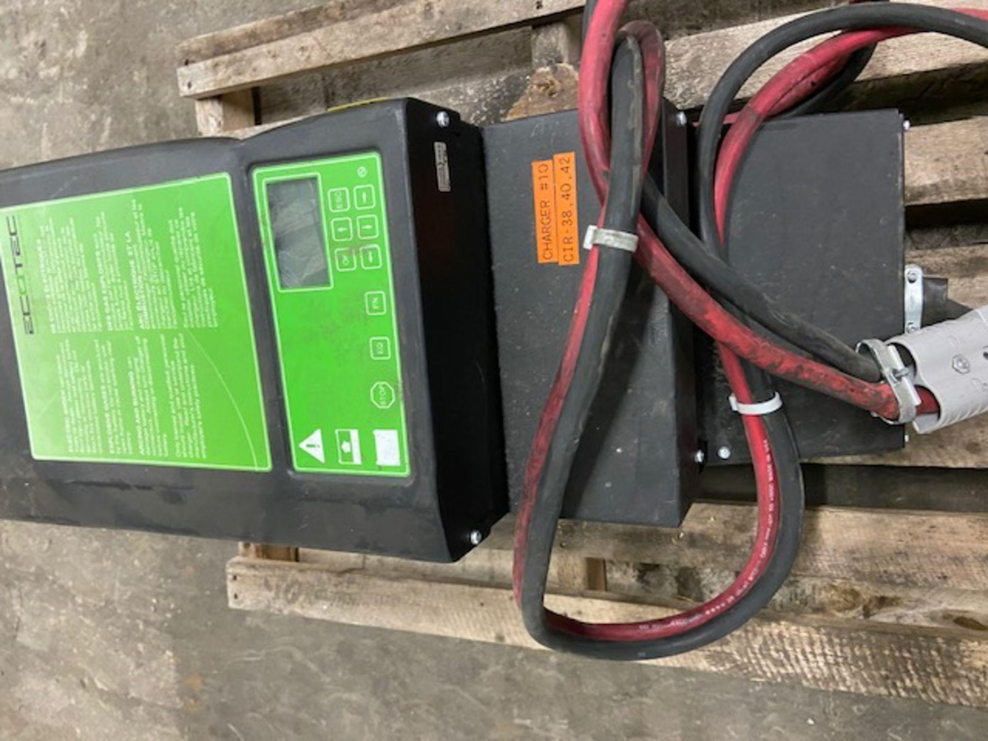 EcoTec Forklift Battery Charger - 36V unit - Image 2 of 3