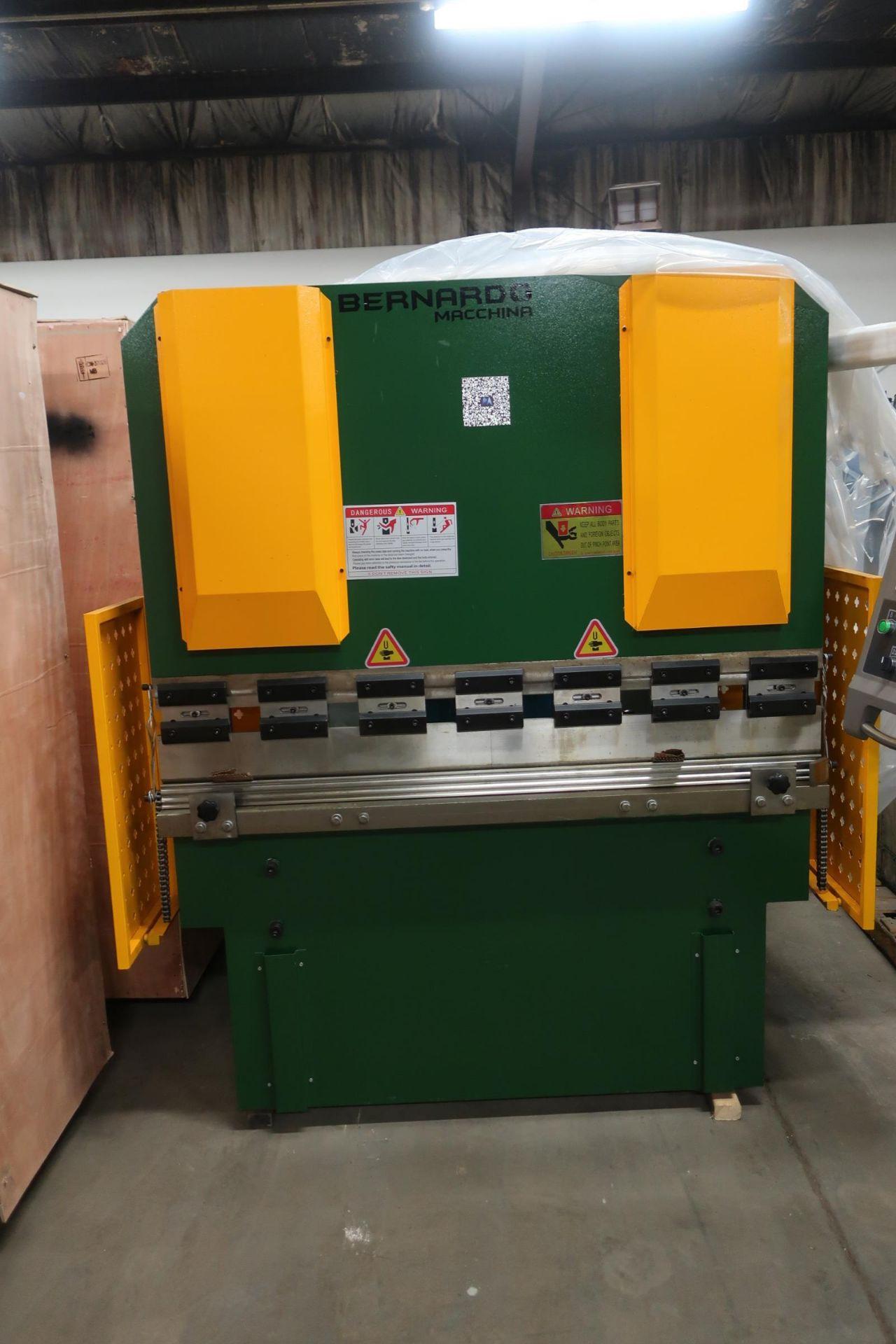 "Bernardo Hydraulic Press Brake 40 ton capacity 60"" bed - 460/575V 3 phase with CNC back gauge and"