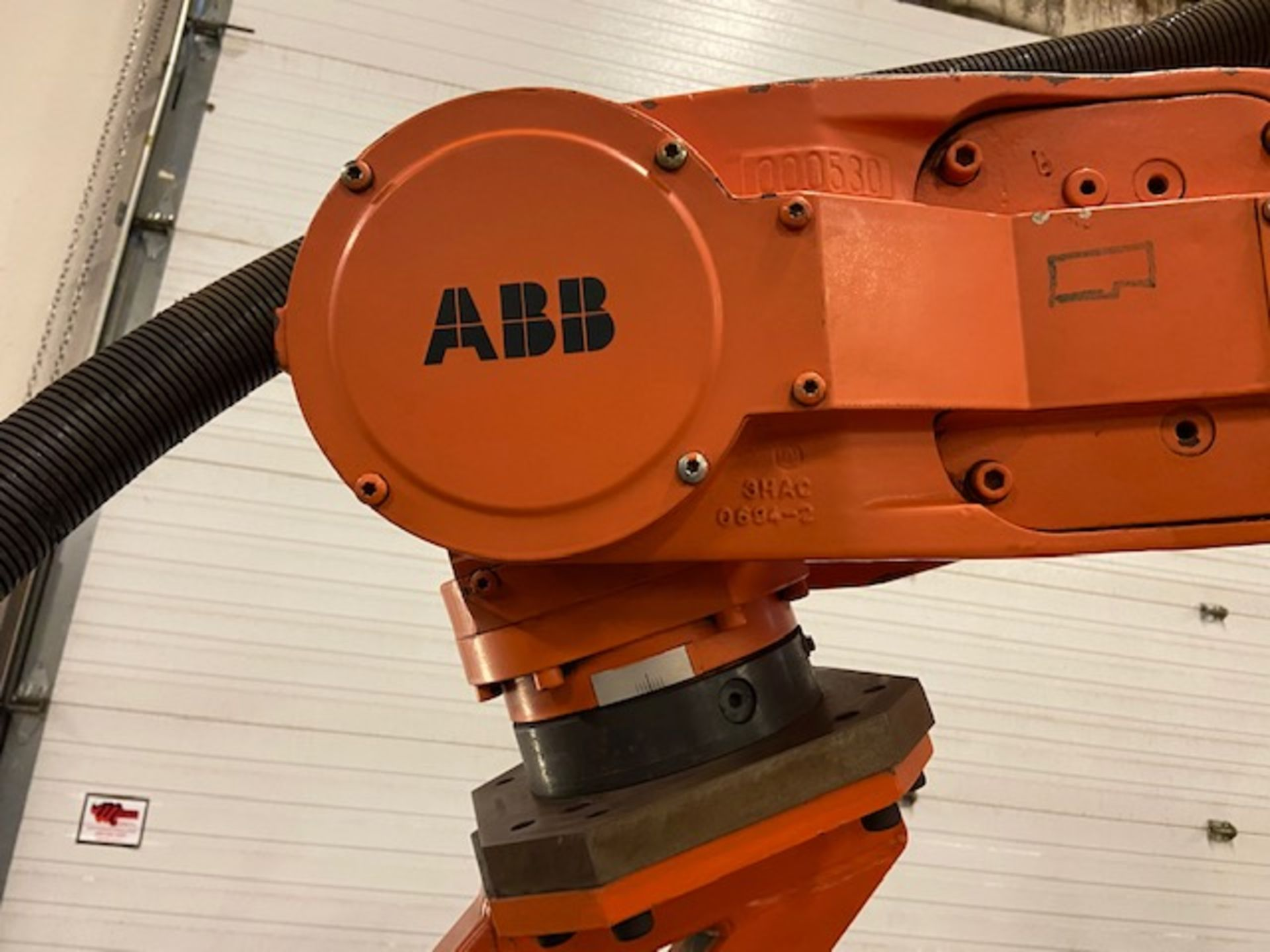 2008 ABB IRB 6400R Robotic Material Handler Package w/ Controller and end of arm tooling - Image 3 of 7