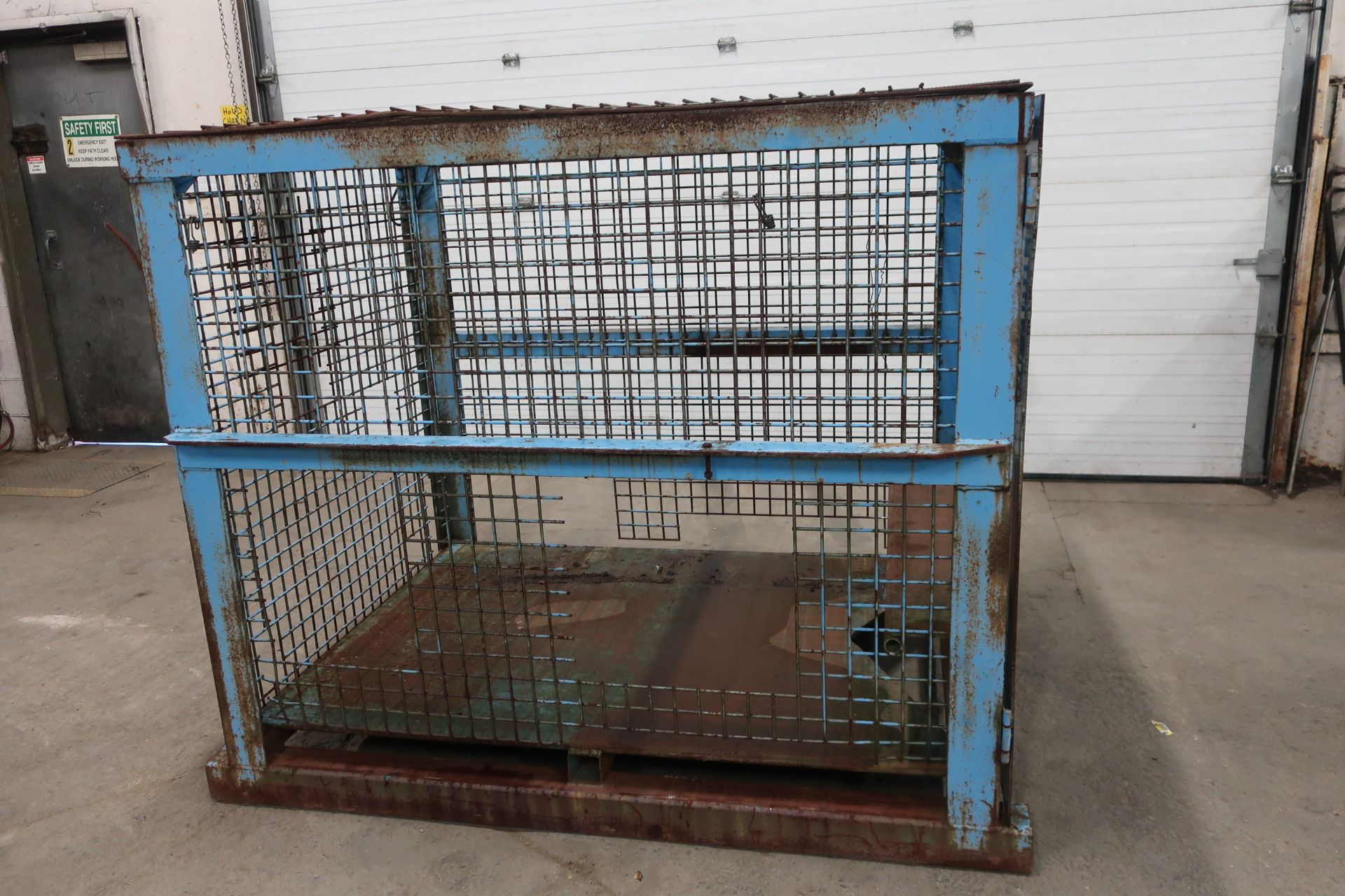 Propane Storage Basket 4 side with top