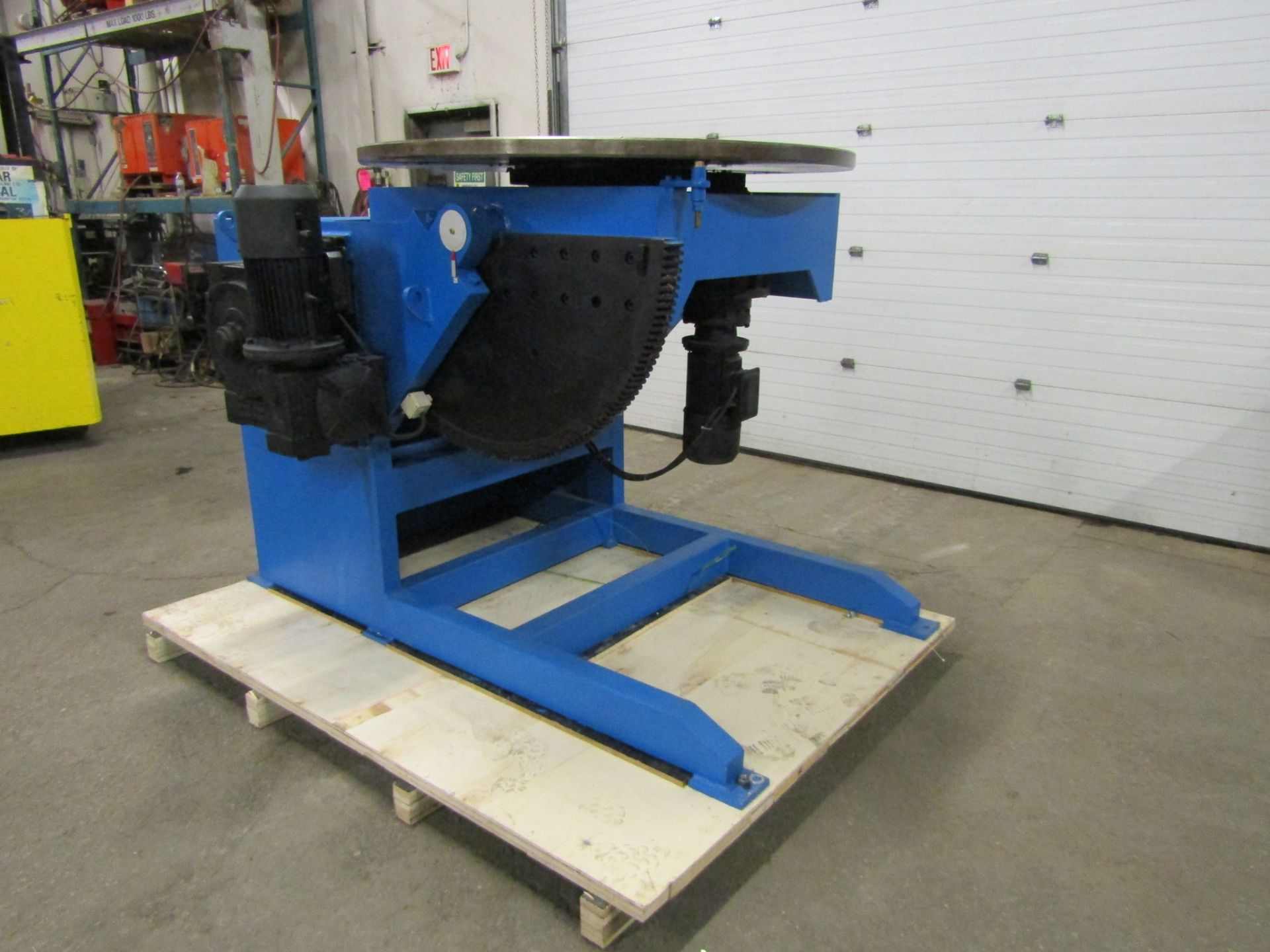 Verner model VD-8000 WELDING POSITIONER 8000lbs capacity - tilt and rotate with variable speed drive