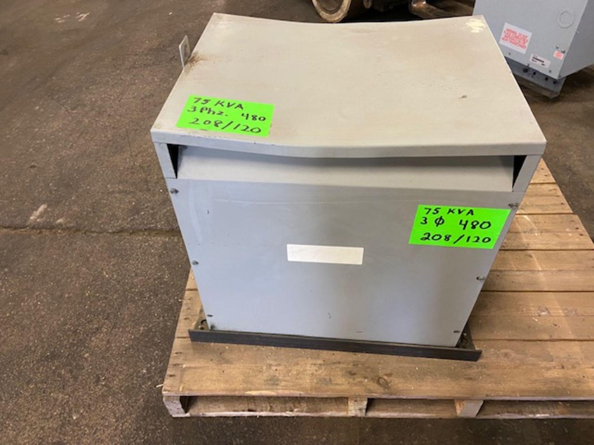 Rex Electrical Transformer 75KVA 480/208/120