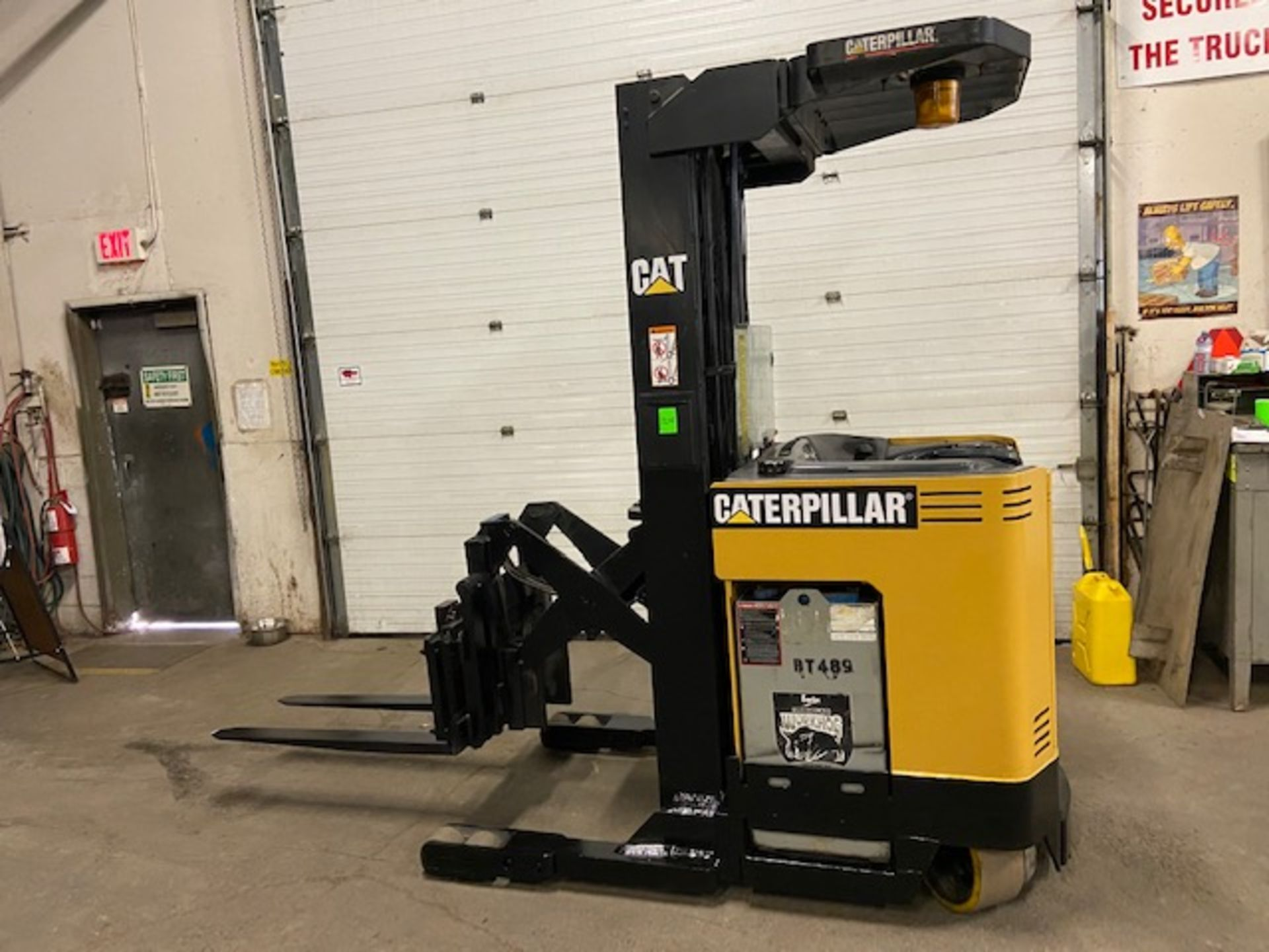 FREE CUSTOMS - CAT Reach Truck Pallet Lifter REACH TRUCK electric 4000lbs with sideshift