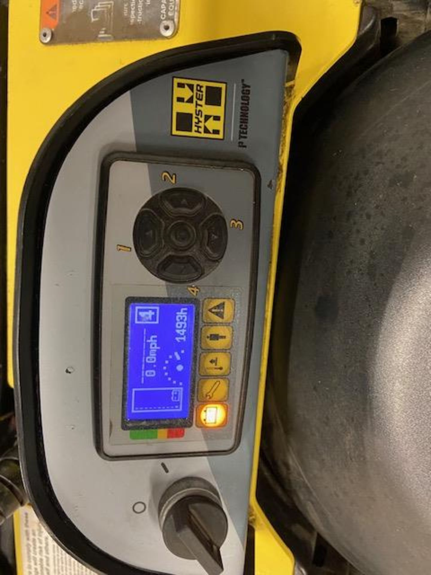 2019 Hyster Electric Ride on Powered Pallet Cart Lift 8000lbs capacity 8' Long with VERY LOW HOURS - Image 2 of 4