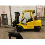 FREE CUSTOMS - Hyster 8000lbs OUTDOOR Forklift with sideshift fork positioner & 3-stage mast LPG