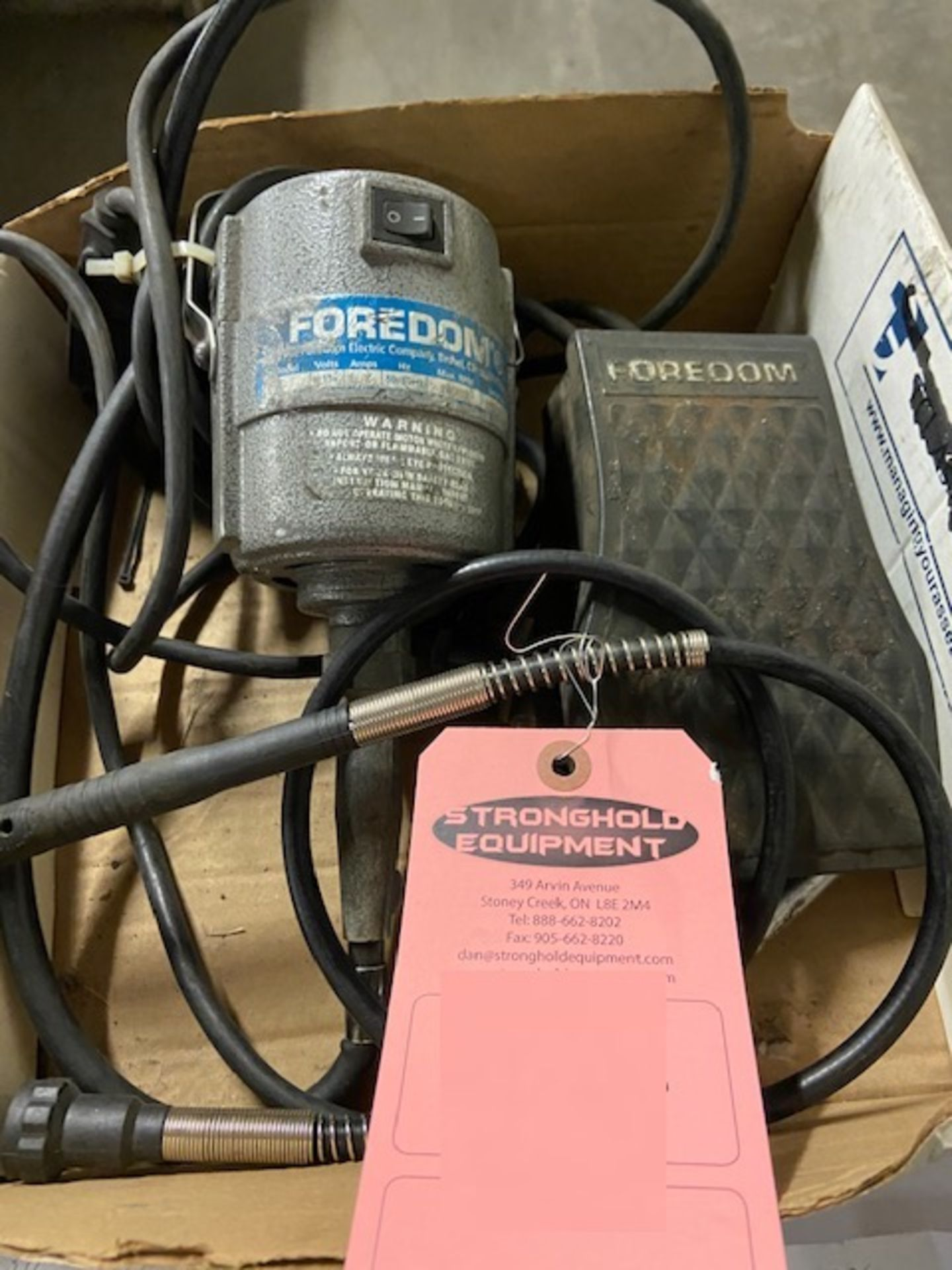 Foredom USA diprofil Power Unit with Foredom Foot Control Unit 110V