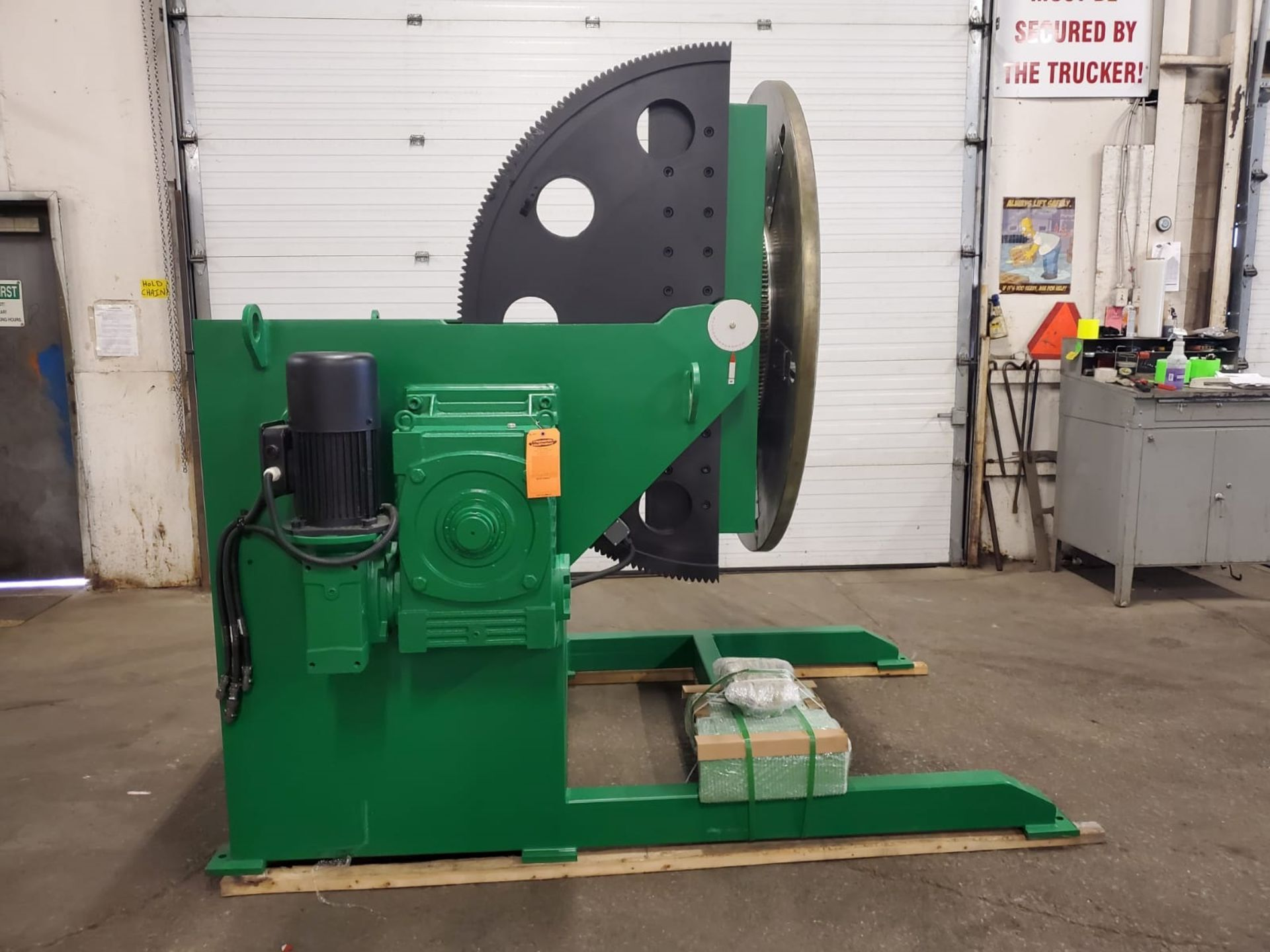 Verner model VD-12000 WELDING POSITIONER 12000lbs capacity - tilt and rotate with variable speed