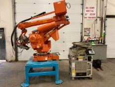 2008 ABB IRB 6400R Robotic Material Handler Package w/ Controller and end of arm tooling