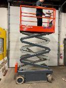 SkyJack III Electric Scissor Lift model 3219 - 19 feet lift, 32 inch width deck with pendant