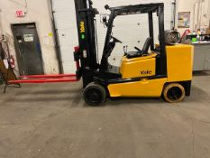 """FREE CUSTOMS - Yale 10000lbs Forklift with 72"""" forks MINT UNIT LPG (propane) (no tank included)"""