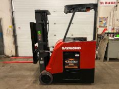 FREE CUSTOMS - 2014 Raymond 5000lbs Capacity Stand On Forklift Electric with 3-STAGE MAST sideshift
