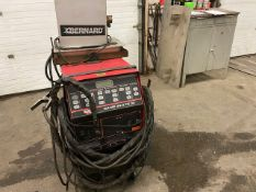 Lincoln Square Wave Tig 255 Welder 255 AMP COMPLETE with Cables and whip & Bernard Cooler unit