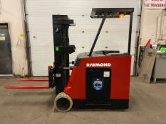 FREE CUSTOMS - Raymond 5000lbs Capacity Stand On Forklift Electric with sideshift