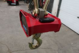 Hanging MINT Digital Crane Scale 20,000lbs 10 ton Capacity - complete with remote control and
