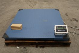 """MINT 6500lb digital floor scale - 48"""" x 48"""" - Great DRO (digital readout) with 1lb accuracy"""