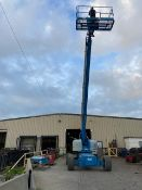 MINT Genie Zoom Boom Lift model S85 with 85' height 4x4 with extendable axles with 4x4 Diesel with