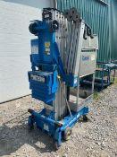 Genie Model AWP25S Aerial Work Platform Telescopic Working Platform Manlift lift unit - 25' lift