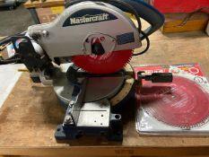 "Mastecraft 10"" Compound Mitre Saw Unit with Extra Blades"