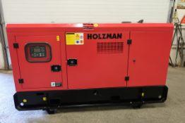 NEW Holzman PowerGen Diesel Generator with Smartgen Controller - 30 KW / 30 KVA - 220V 98.4 amp