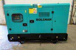 NEW Holzman PowerGen Diesel Generator with Smartgen Controller - 15 KW / 15 KVA - 220V 49 amp