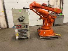 2008 ABB Robot IRB 6400 Handling Robot with ABB Controller & Teach Pendant and Cables complete