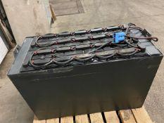 "2018 GNB 48V Forklift Battery MINT UNIT - dims: 44x21x29"""