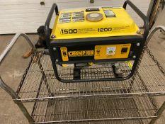 Champion 1500W Gas Generator Unit