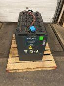 "2018 Tubular 48V Forklift Battery MINT UNIT - dims: 38x21x29"""