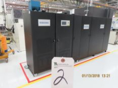 (2018) Industronic mod. UPSIND-13160 Type UPS 160 KVA Battery Backups w/ (58) Batteries