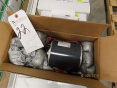 (Lot) US Motors mod. 1870, 1863, 1873, 1868, 8907 1/2hp Condenser Fans (8 Boxes), 1/4hp, 1/16hp &