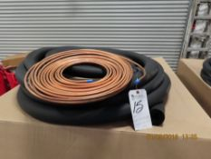 (Lot) 3/8'', 1 1/8'', 3/4''x50'L Straight End Line Set (5 Boxes)