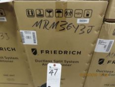 Friedrich mod. MRM36Y3J, Ductless Split System w/ 1 Wall Unit