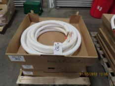 (Lot) Gambridge-Lee 1/4''x5/8''x1/2''x25'L PE Mini Poly White Line Set (4 Boxes)